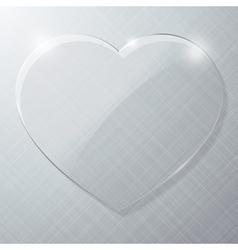Glass Heart vector