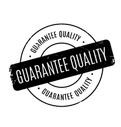 Guarantee Quality rubber stamp vector