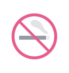 isolated cigarrete icon design vector image