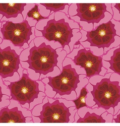 malva pattern vector image