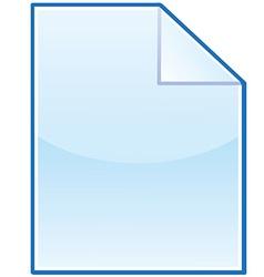 New file icon vector