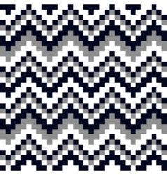 ornament black and white squares vector image