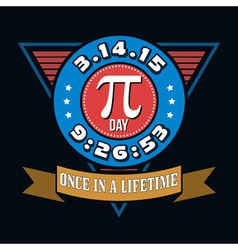 Pi Day T-shirt Typography Graphics vector