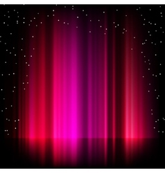 Purple aurora borealis background EPS 8 vector image