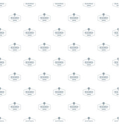 research center pattern seamless vector image