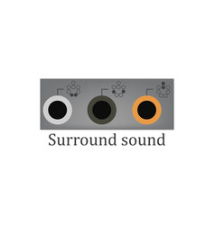 Surround sound vector