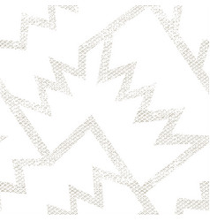 white geometric pattern grunge effect vector image
