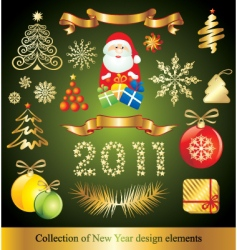 celebration design elements vector image