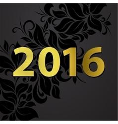 2016 postcard vector image vector image