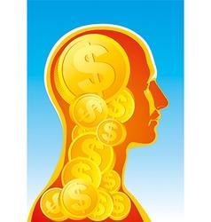 Money man vector image vector image
