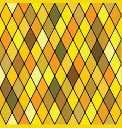 harlequine golden seamless pattern vector image