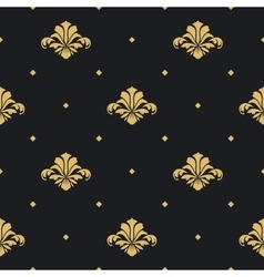 baroque royal design wallpaper vector image