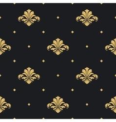 Baroque royal design wallpaper vector image