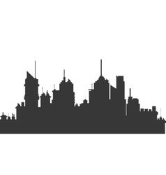 city skyline icon vector image