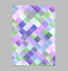 colorful gradient abstract diagonal square vector image