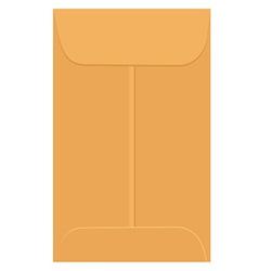 Envelope template vector image