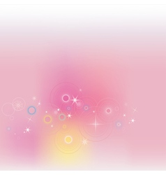 Pink fantasy background vector image