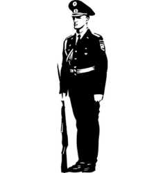 soldier01 design vector image vector image