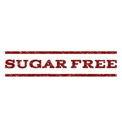 Sugar Free Watermark Stamp vector