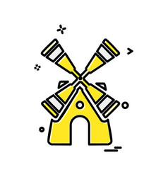 Turbine icon design vector