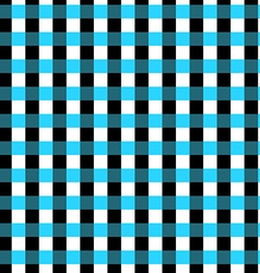 Seamless geometric gingham pattern Abstract vector image vector image