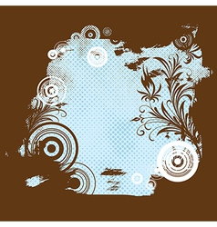 6floral line 39 2 vector image