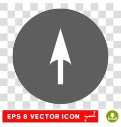 Arrow Axis Y Round Eps Icon vector