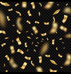 confetti explode holiday party festival vector image