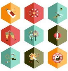 icons for a party vector image