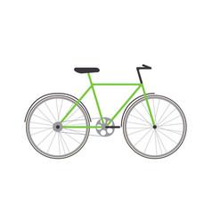 object transport bike vehicle vector image