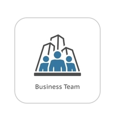 Business Team Icon Flat Design vector image
