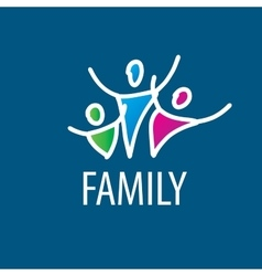 Logo family vector