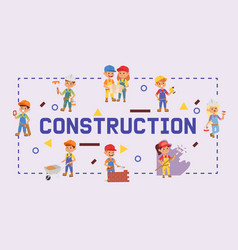 Builder constructor children character vector