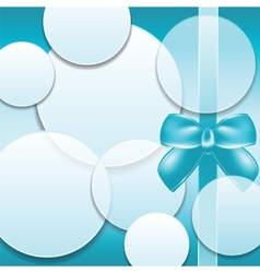 Cover of the present box abstract background vector image
