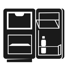 Home fridge icon simple style vector