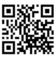 Qr code scan isolated on white background vector