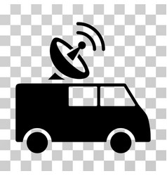 Radio control car icon vector