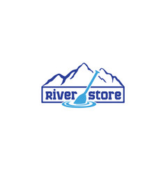 river-store-logo vector image