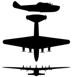 Boeing 314 American Clipper vector image vector image
