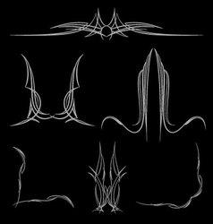pinstripe-025 vector image vector image