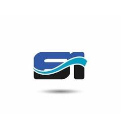 60th Year anniversary design logo vector image vector image