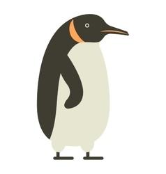 Emperor penguin cute anima vector image