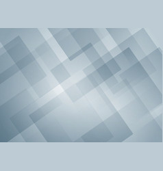 abstract white and gray geometric square shape vector image