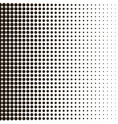 background halftone for your designs hallftone vector image