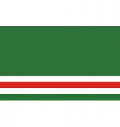 chechen republic of ichkeria flag vector image