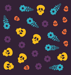 day of the dead celebration vector image