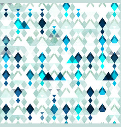 diamond seamless pattern grunge effect vector image