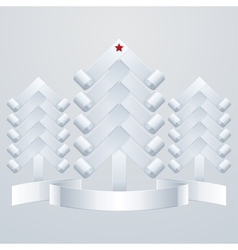Fir-Trees Object vector image
