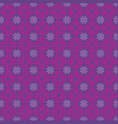 seamless pattern purple background vector image