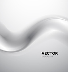 Abstract gray smoke background vector image vector image